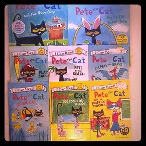 Pete The Cat Books (8)